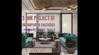 3 BHk in Indirapuram By Lakkadworks