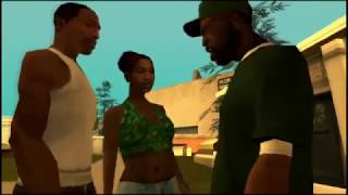 Grand Theft Auto San Andreas Story First 3 Scene's