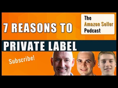 7 Reasons Private Label Is Better Than Wholesale - Amazon Seller Podcast Ep. 13