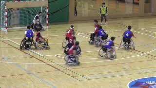 ドリーマーズ VS 大阪体育大学APES-A 前半 車いすハンドボール近畿リーグ第1節