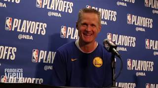 Steve Kerr on Clippers Winning While Rebuilding, Not Being Surprised By Clippers & Lou Williams