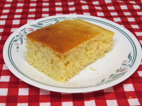 Buttermilk Cornbread Baked In The Toaster Oven