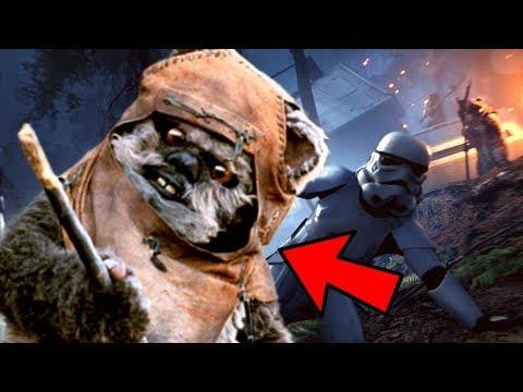 CACERÍA de EWOKS !!! NUEVO MODO en STAR WARS BATTLEFRONT 2 thumbnail