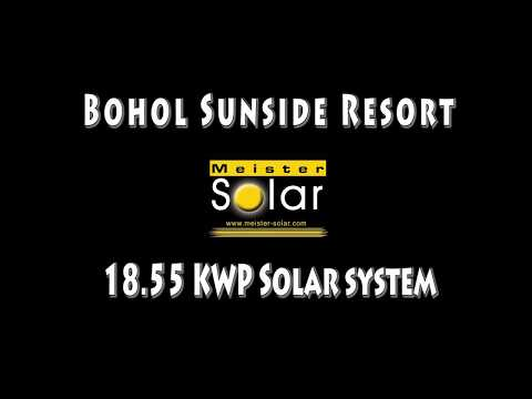 Solar System Installation on Bohol