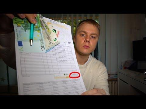 Моя месячная зарплата в Германии студентом