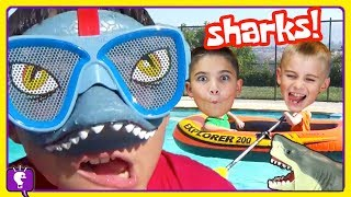 Shark Adventures COMPILATION and Play with The HobbyKids!