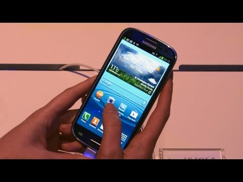 Samsung Galaxy S3 Review: Hands on