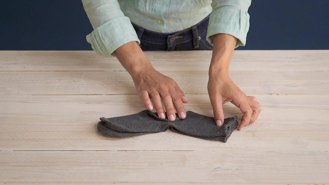 Cómo Doblar Calcetines Con El Método Marie Kondo Youtube