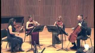 Momenta Quartet performs Stefan Wolpe: String Quartet (1969)