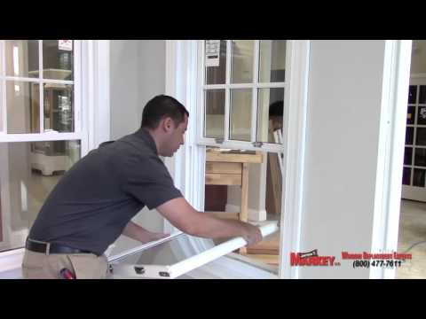 How to fix popped out double hung vinyl window sash.