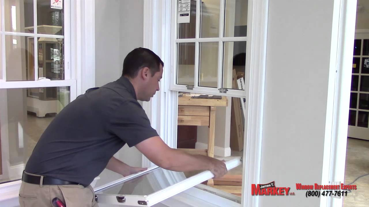 How To Fix Popped Out Double Hung Vinyl Window Sash Youtube