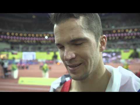 Jakub Holusa (CZE) Gold Medal - 1500m Men