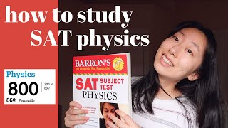 how to get aฑ 800 on the SAT physics subject test