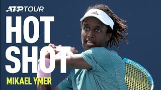 Ymer Produces Unreal Defence | HOT SHOTS | ATP