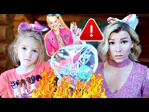burning-jojo-siwa's-dangerous-makeup-set!!😡🔥