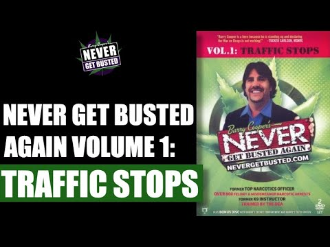 Barry Cooper's Official NeverGetBusted Volume 1: Traffic Stops.  Entire Video