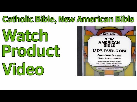 Catholic Bible, New American Bible In Audio For MP3 Apple Android