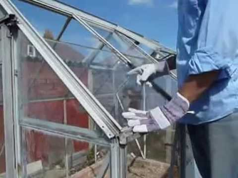 greenhouse dismantle and reassemble