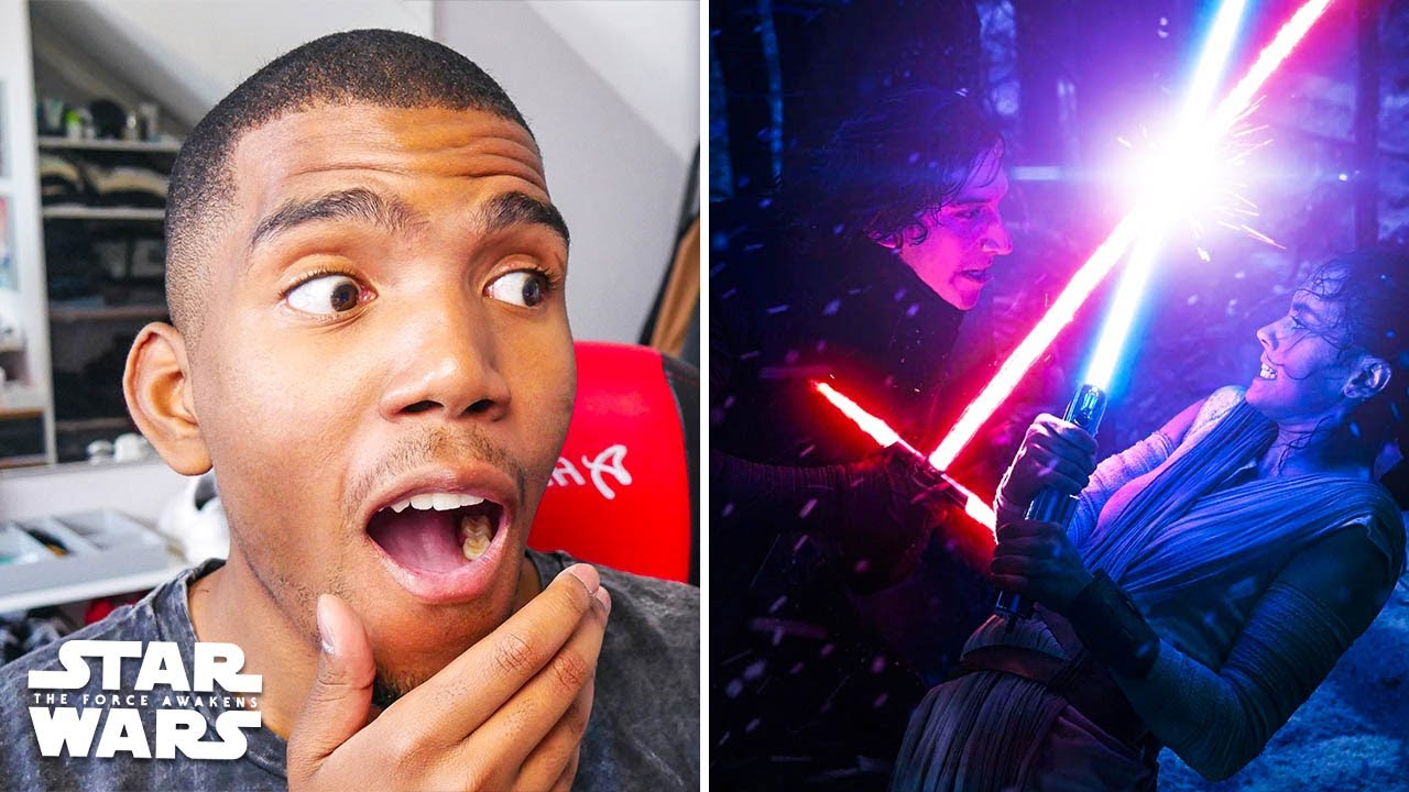 Kylo Ren vs Rey & Finn! Star Wars: Episode 7 - The Force Awakens First Time Movie Reaction (Part 2)