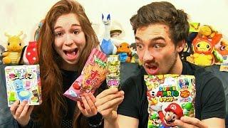 Dégustation Candysan en Couple #10 PRESERVATIF COMESTIBLE WTF ! EXPERIENCE CHIMIQUE !