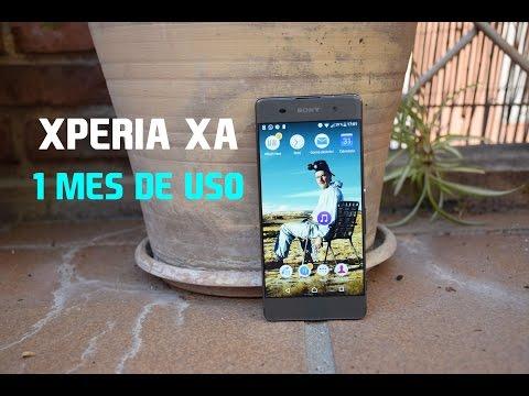 Sony Xperia XA (1 mes de uso)