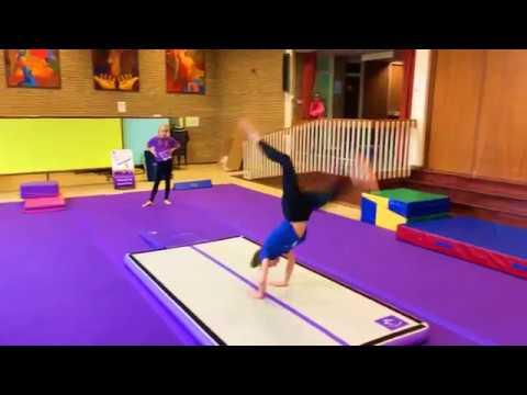 Gymnastics Bounce Track (air floor