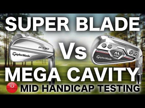 SUPER BLADE IRONS Vs MEGA CAVITY IRONS - MID HANDICAPPER TESTING