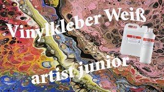 Einfaches arbeiten mit dem Vinylkleber weiß von Gerstaecker