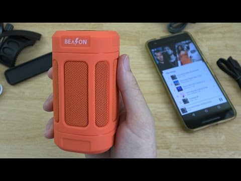 BEASON Portable Outdoor Bluetooth Speaker (Deep Bass - FM Radio - 15 Hours Playtime)