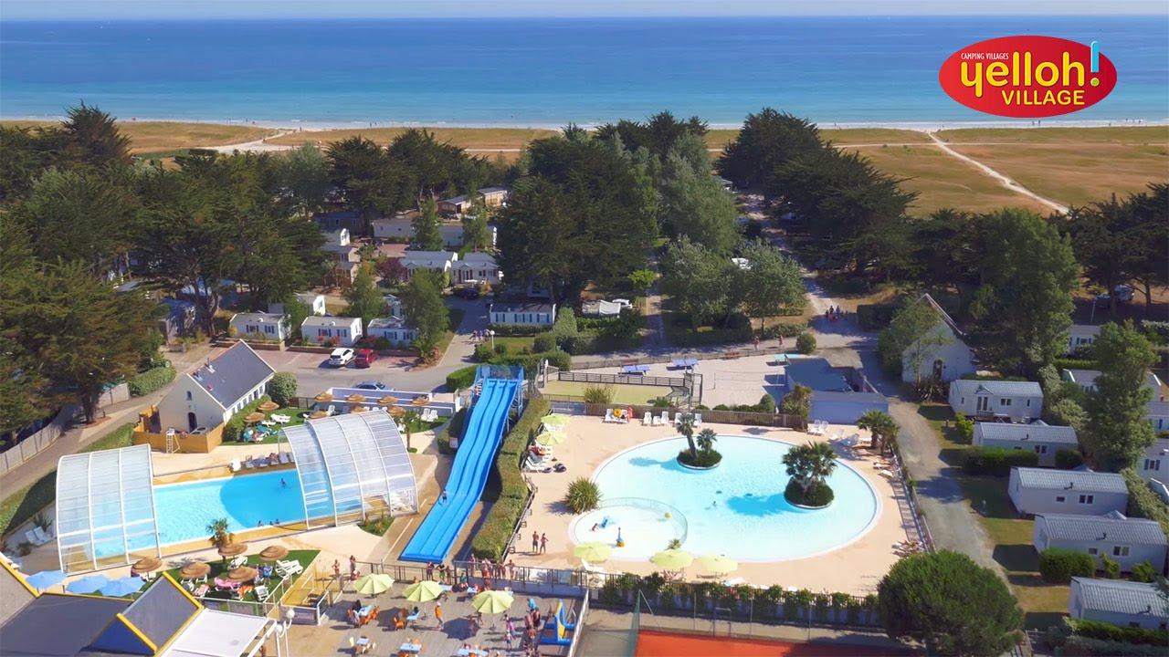 Camping yelloh village la plage in le guilvinec for Camping la piscine bretagne