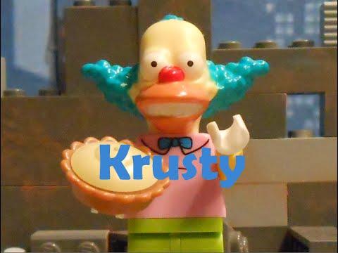 The simpsons krusty the clown brickfilm youtube - Simpson le clown ...
