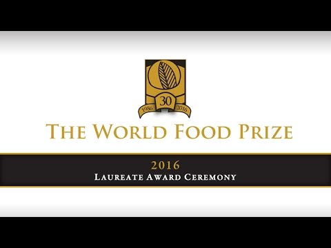 2016 World Food Prize