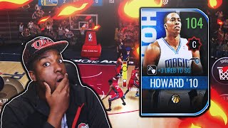 104 OVR JOURNEYMAN MASTER DWIGHT HOWARD GAMEPLAY!!! NBA LIVE MOBILE 20