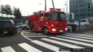 消防車とすれ違ったと思ったら交通事故だったみたい thumbnail