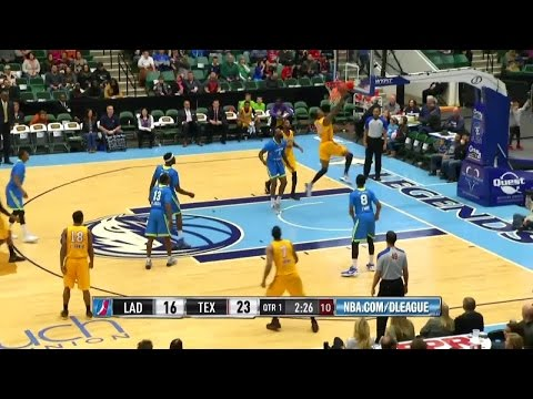 Zach Andrews posts 18 points & 12 rebounds vs. the Legends, 1/9/2015