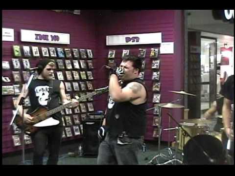 Earth A.D (misfits tribute band) at Joe's records