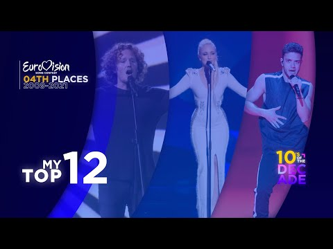 Eurovision Song Contest | Official 4th Places (2009-2021) | My Top 12 | 10's Of The Decade!