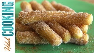 Baixar Homemade Churros |  How To Make Churros! | Hilah Cooking