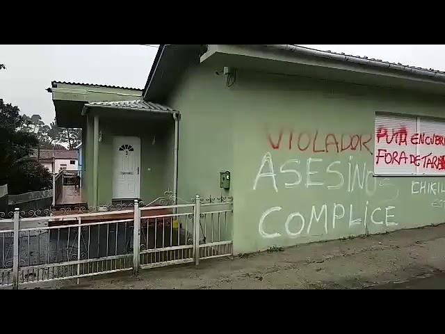 Aparecen nuevas pintadas en la casa de El Chicle