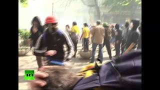Video: Fierce street battles in Odessa, Ukraine as pro- & anti-Kiev demos clash(Three people were killed and 15 wounded as rival rallies clashed in Ukraine's port-city of Odessa. A pro-unity demonstration, which included nationalists and ..., 2014-05-02T17:38:23.000Z)