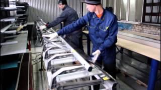 видео производство доборных элементов