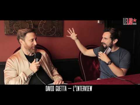 David Guetta dans Le Lab Virgin Radio - Interview