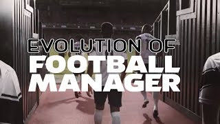 Graphical Evolution of Football Manager (2005-2019)