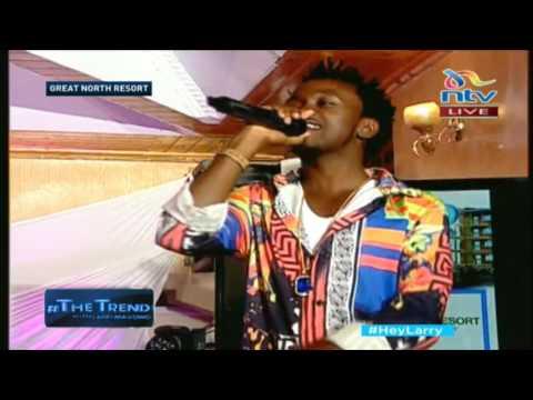 Bahati and Mr.Seed perform Kumbe Kumbe on #theTrend