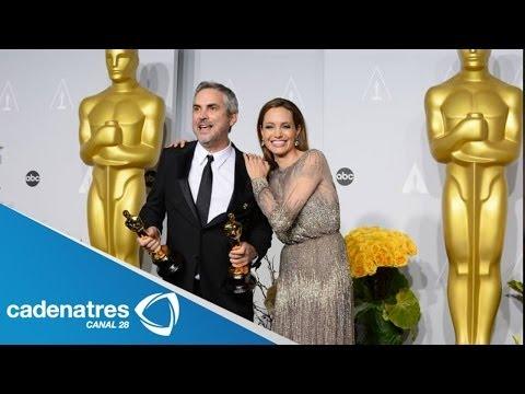 Alfonso Cuarón hace historia en la entrega de los premios Oscar 2014