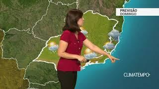 Previsão Sudeste – Chuva volumosa no ES e MG