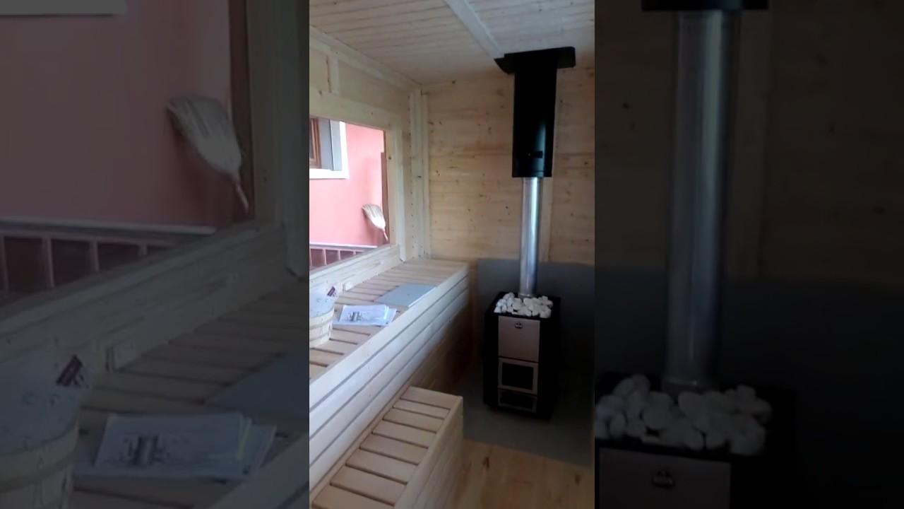 Casetta giardino con sauna e vasca idromassaggio youtube