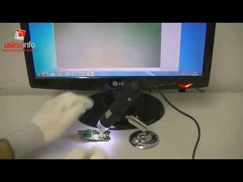 Microscópio Digital USB Com Zoom De 400X - MV4002