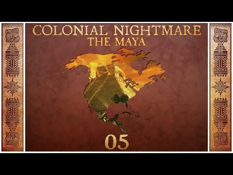 Civilization 5 - Colonial Nightmare as the Maya - Episode 5 ...Religion or No Religion?...