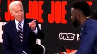 Joe Biden Uncomfortably Reaches Out To Black Voters